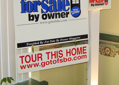 Real Estate/Yard/Site Sign